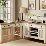 interior-l-shape-white-wooden-corner-desk-with-drawers-and-storage-combined-with-shelves-and-drawers-on-the-brown-wooden-counter-top-rustic-corner-computer-desk