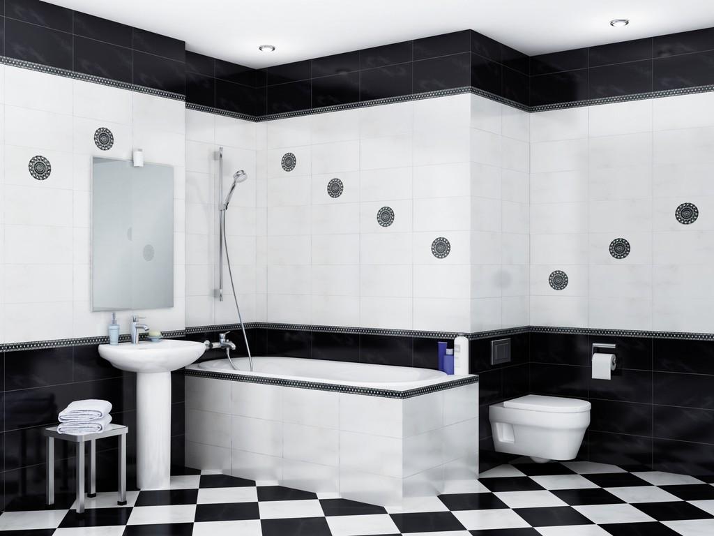 Дизайн черной ванной комнаты фото