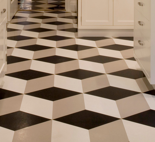 Best color for floor tiles