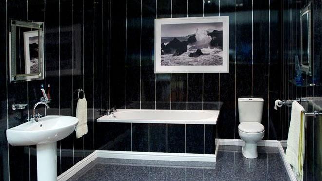 фото отделка ванной комнаты пластиком