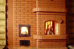 Дизайн печей из кирпича фото