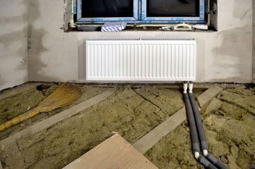 Отопление частного дома своими руками радиаторы
