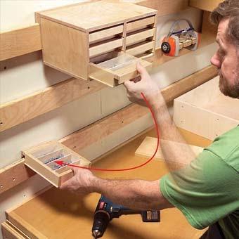 Приспособления для хранения инструментов своими руками 24