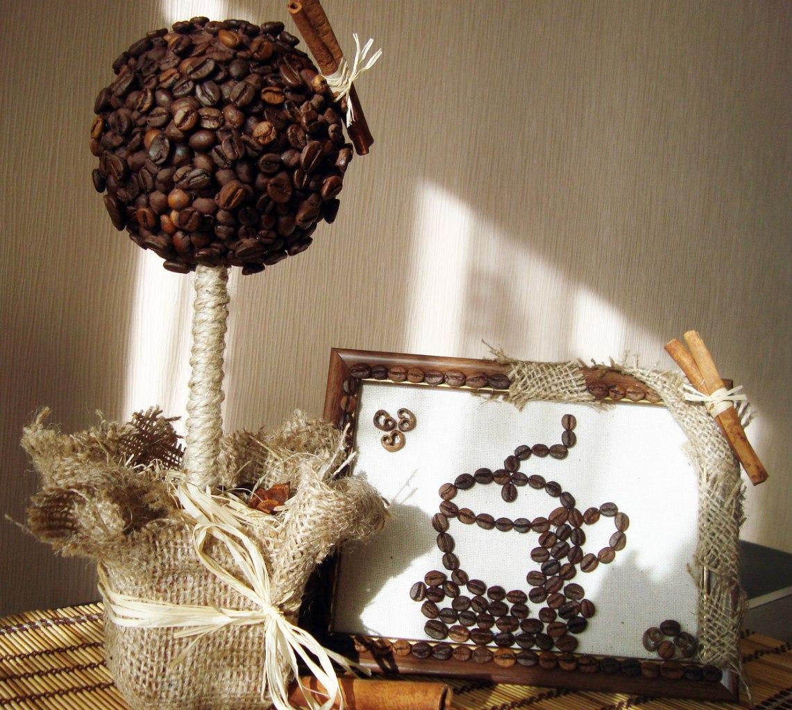 дерево из кофе своими руками фото рупора потребуется