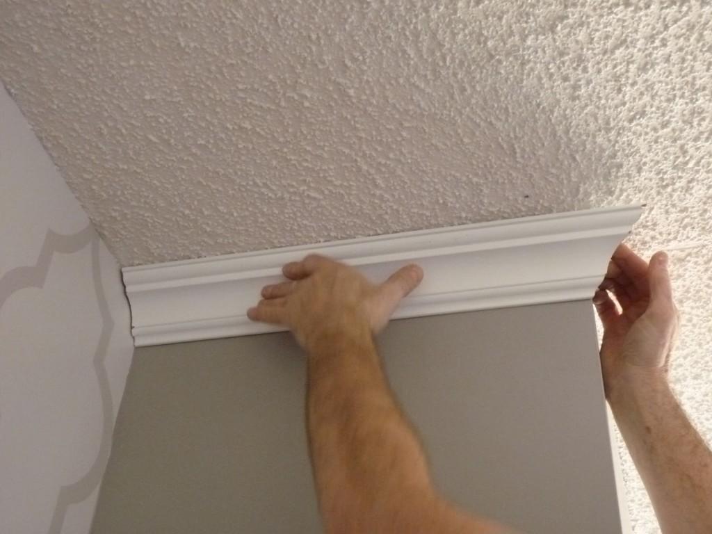 Как правильно сделать потолочные плинтуса фото 923