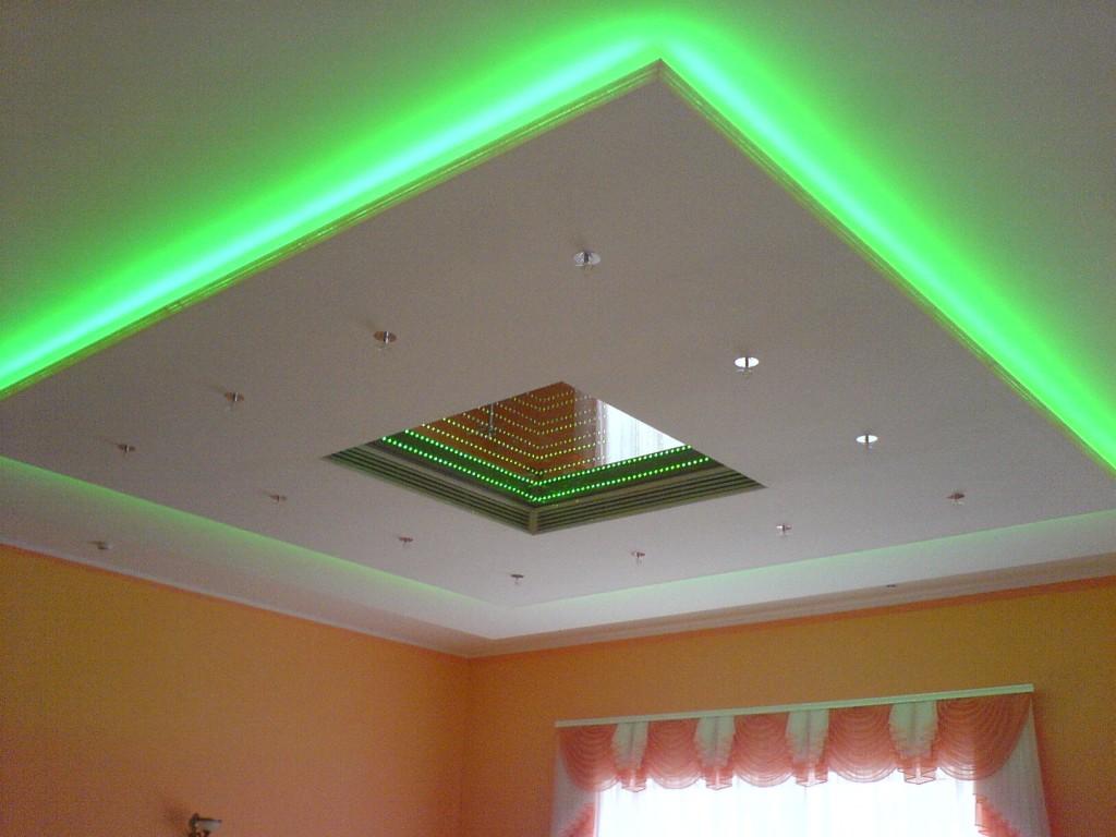 большую плоскую варианты покраски потолков из гипсокартона фото тема