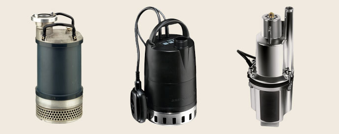 Погружной или поверхностный тип насосного агрегата