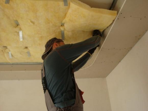 Звукоизоляция потолка квартиры гипсокартоном – современное решение проблемы шума