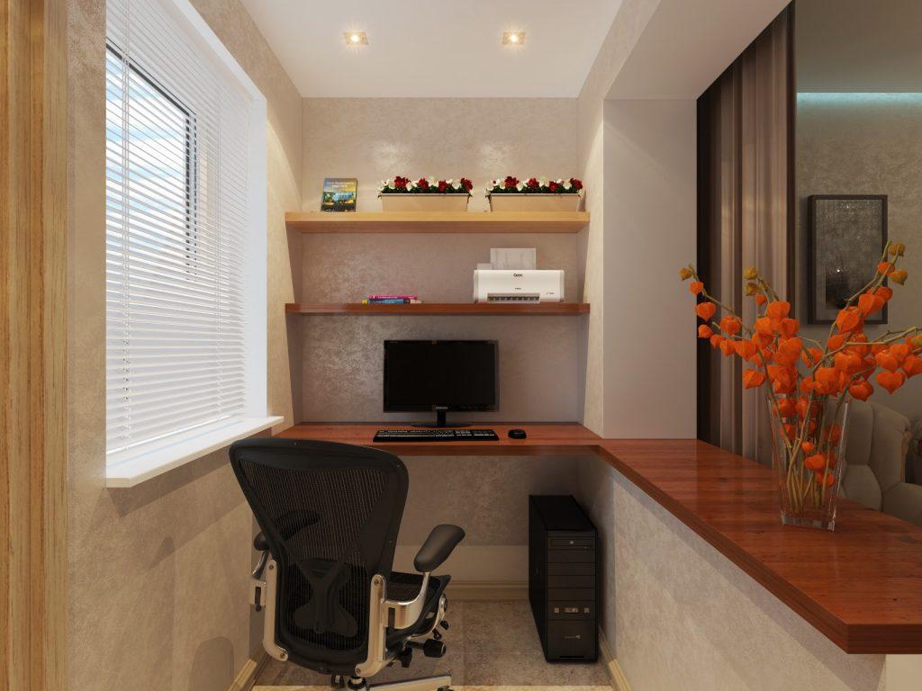Объединение балкона с комнатой. примеры и фото..