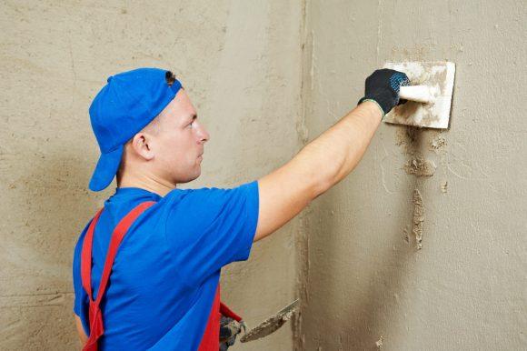 Финишное оштукатуривание стен своими руками 12