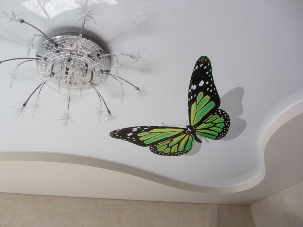 рисунок на потолок что нас