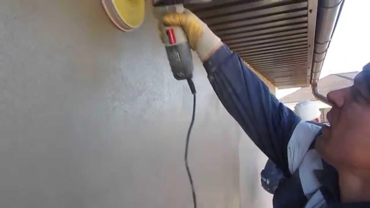 пример использования шлифовки стен в отделке квартиры