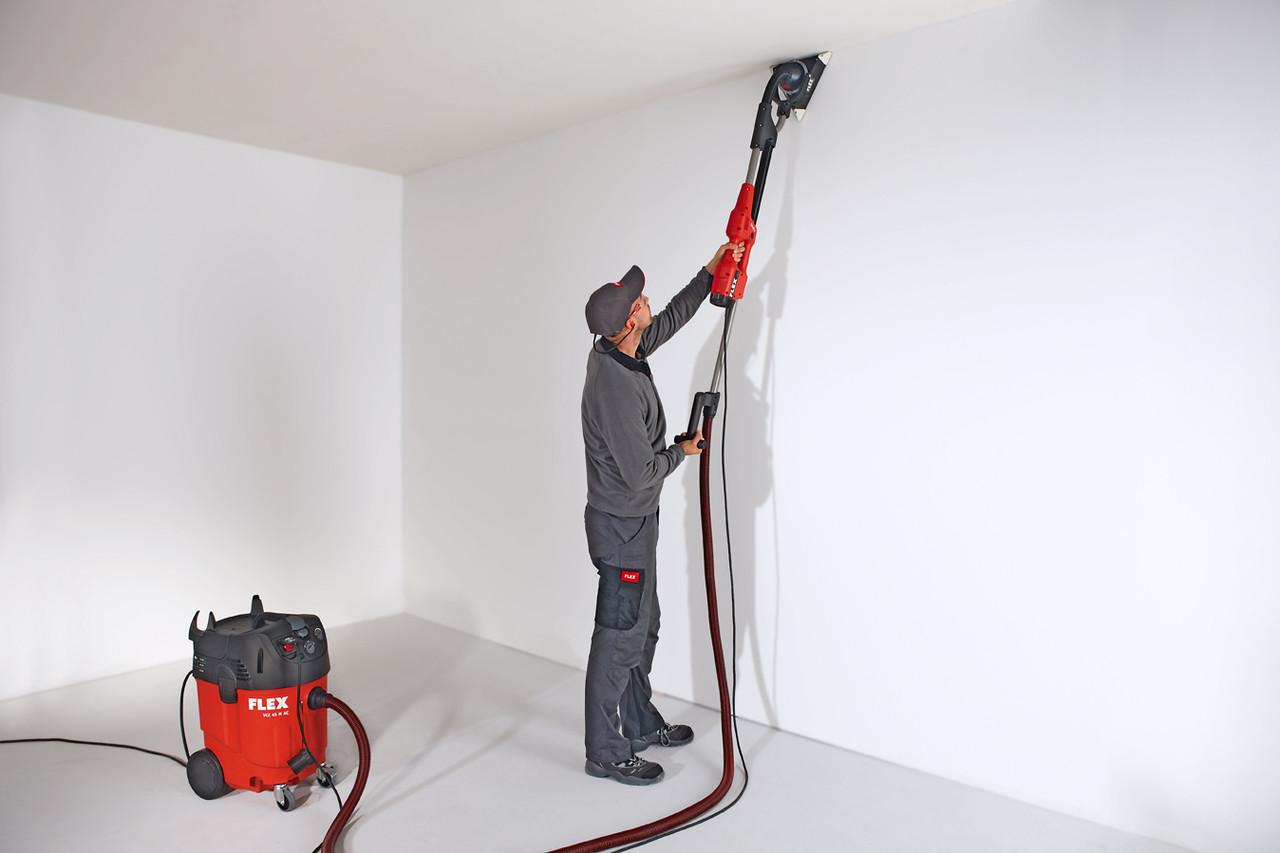 вариант применения шлифовки стен в отделке дома