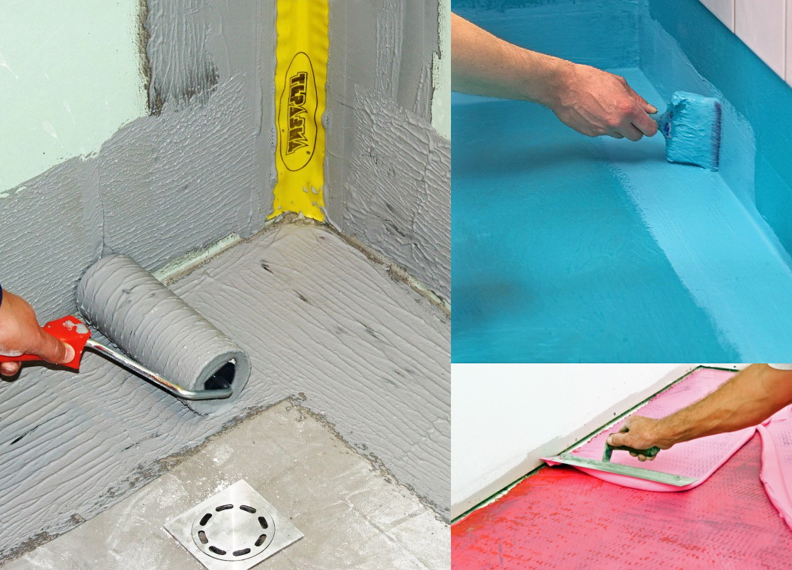 Покрытие для стен в ванной вместо плитки резиновой