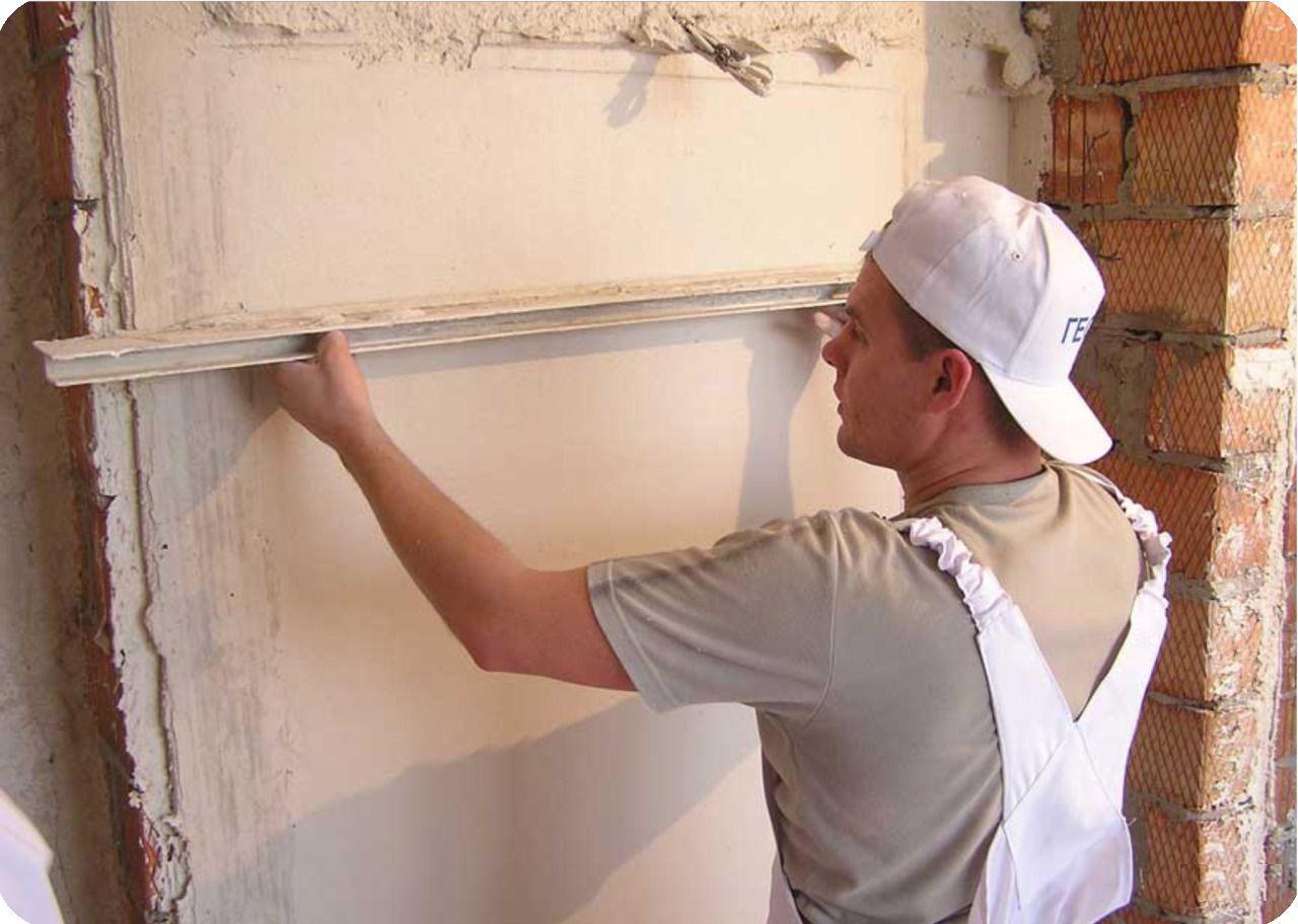 Выравнивание старых стен своими руками